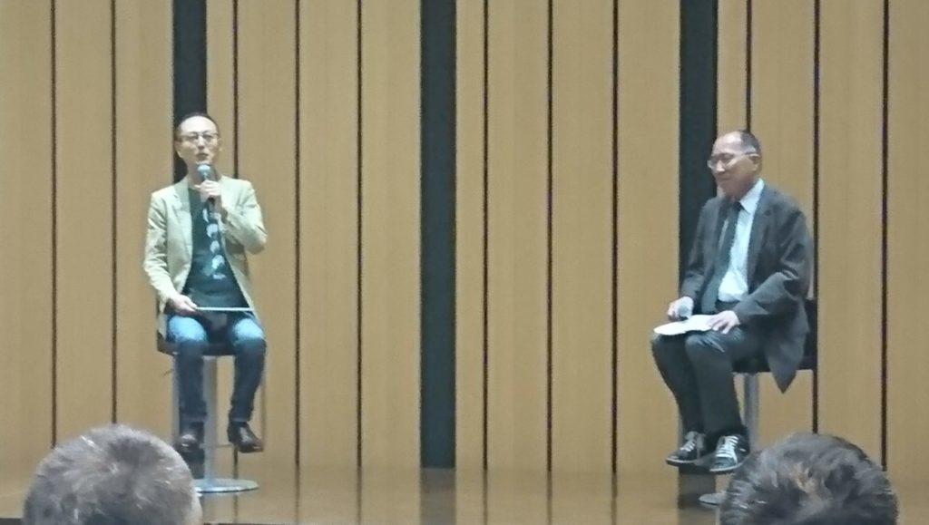 カン・チュンド氏と遠藤俊英金融庁長官