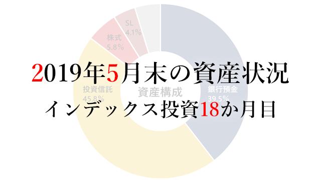 190601 2019年5月末の資産状況