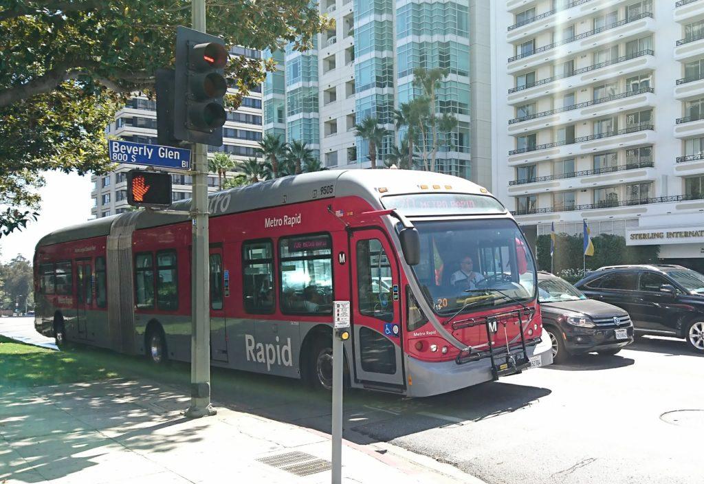 ロサンゼルスのメトロバス