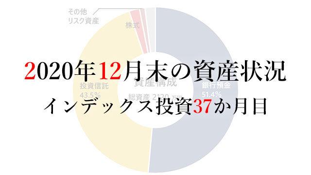 210101 2020年12月末の資産状況